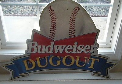 Budweiser Dugout sign  for The MAN CAVE