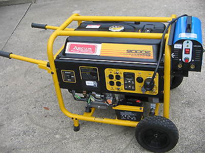 NEW 9000 WATTS GEN. 250 AMP  DC STICK WELDER COMBO