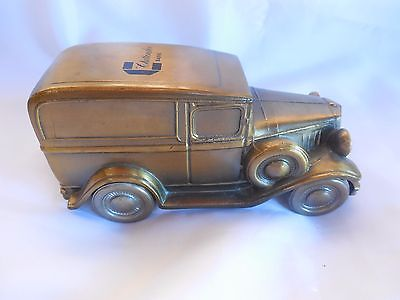 1934 Ford Delivery Banthrico Metal Bank Chittenden Trust Bank Logo 1974