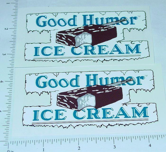 Good Humor Ice Cream Custom Truck Stickers       GH-001