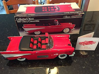 1957 CHEVY CONVERTIBLE DECANTER STILL SEALED 24 YEARS