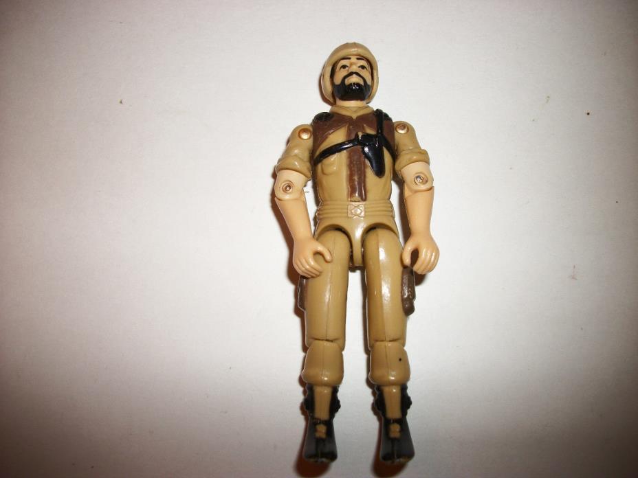 GI Joe Vintage Figure 1980s Tan Clutch