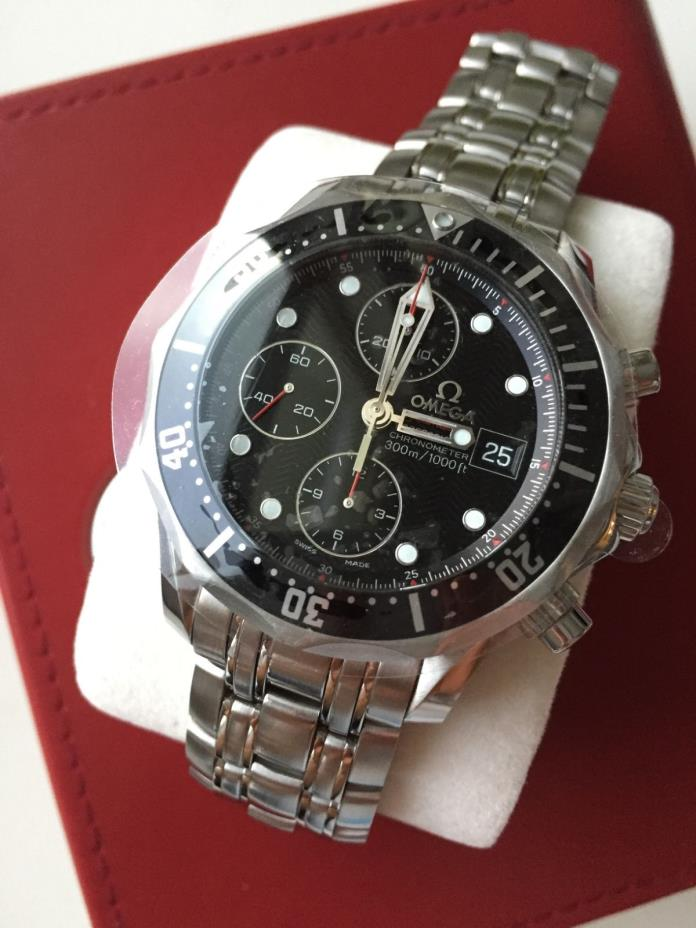 MINT BOXED Omega Seamaster Professional 213.30.42.40.01.001 Wrist Watch for Men
