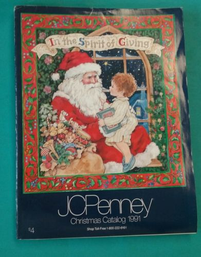 1991 JC Penney Christmas Catalog Good Condition