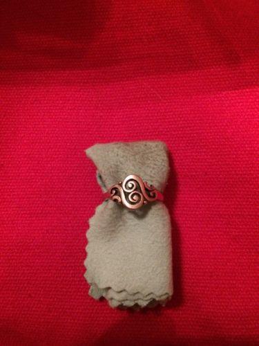 James Avery Spanish Swirl Ring Size 6