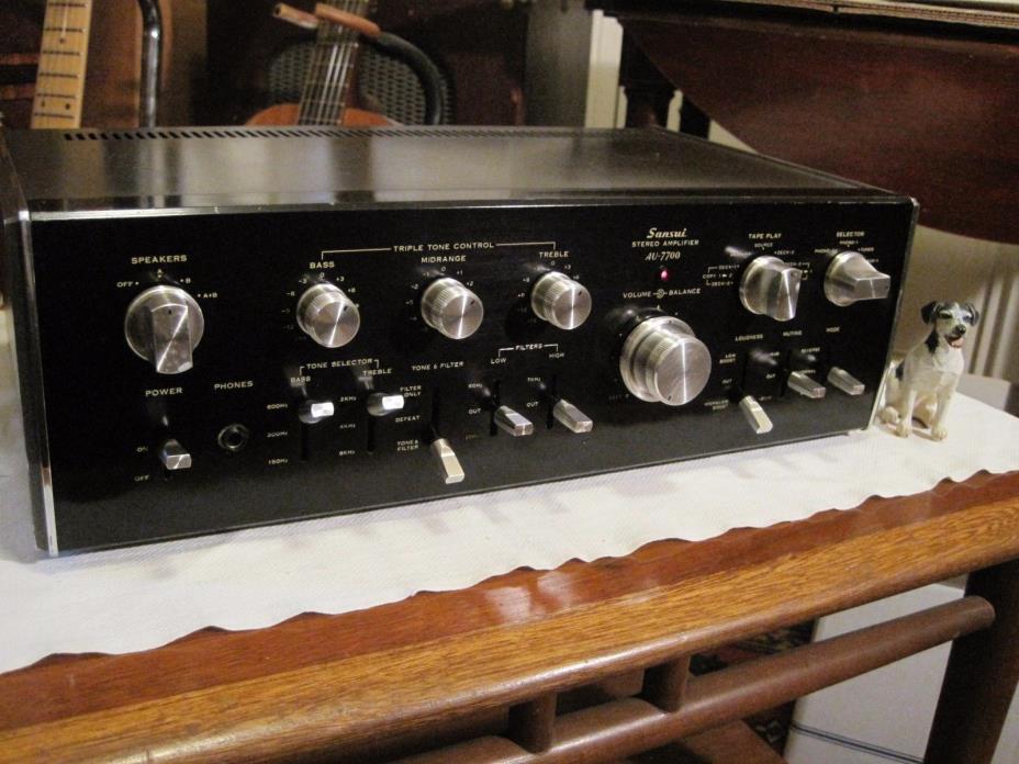 Sansui AU-7700 Stereo Amplifier