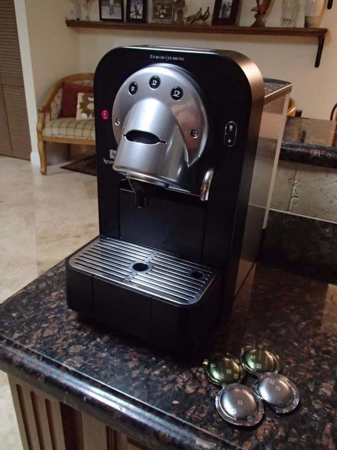 nespresso coffee machines for sale classifieds. Black Bedroom Furniture Sets. Home Design Ideas