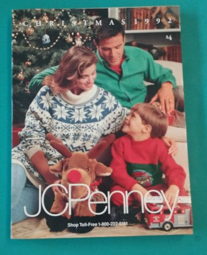 1992 JC Penney Christmas Catalog Good Condition