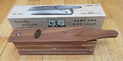 Vintage OLT GAME and BIRD CALLS GOBBLER