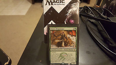 magic the gathering commander deck  Blue + Green + Red plus deckbox