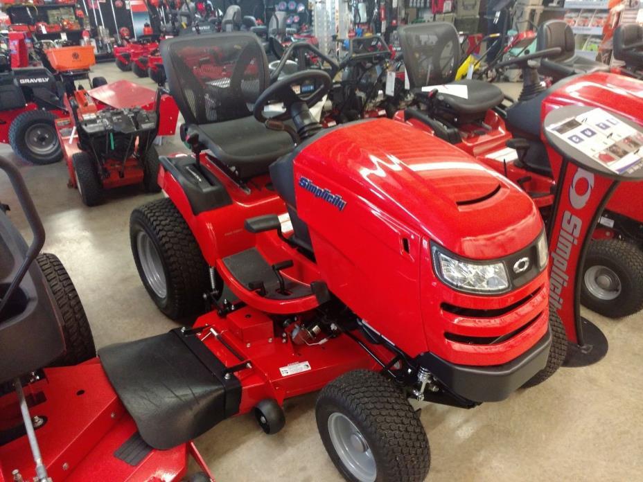 Simplicity Prestige Garden Tractor New 52