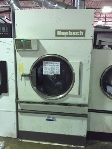 HUEBSCH 120 lb Gas Dryer Works. Shipping Available.