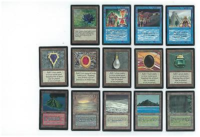 Magic MTG Beta Complete Set MOSTLY NEAR MINT! MINT POWER AND DUALS!