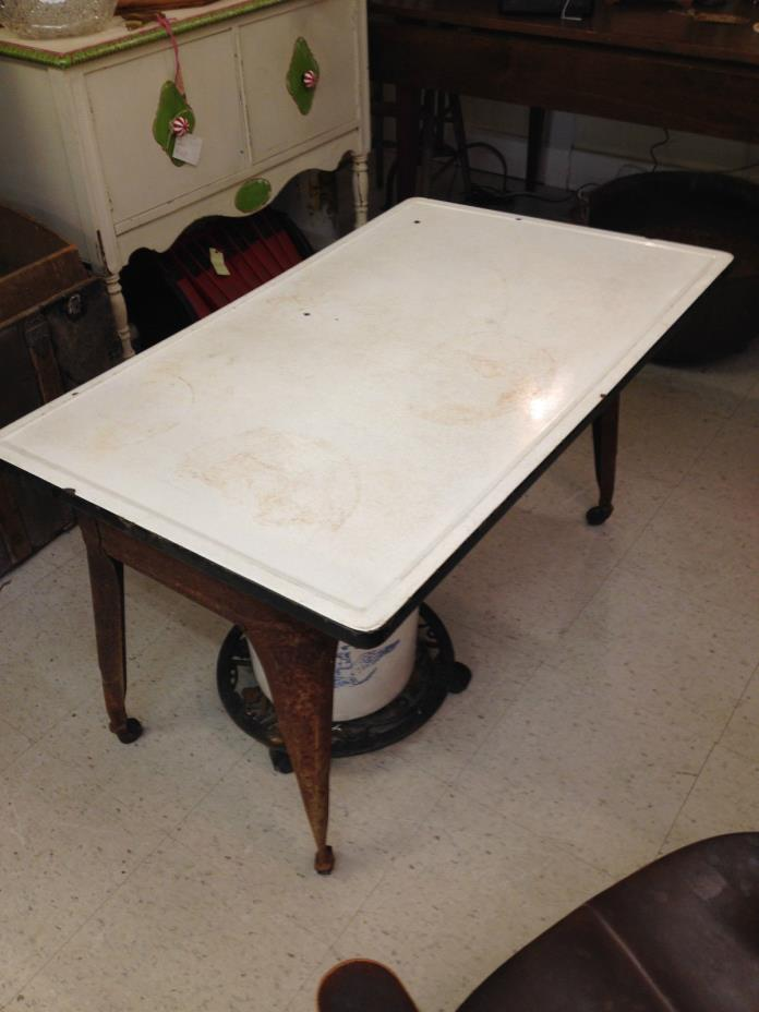 Enamel Top Tables For Sale Classifieds
