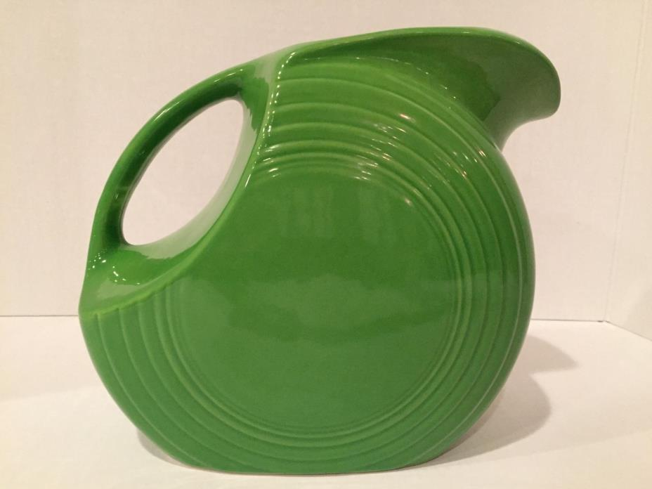 fiesta ware green pitcher