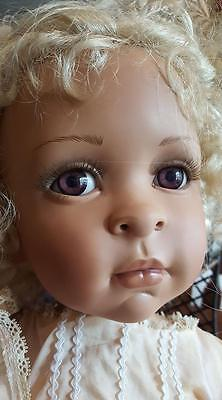 LTD ED Toddler Doll By Pamela Erff seated doll rustie dolls collector porcelain