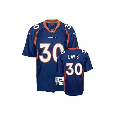 TERRELL DAVIS DENVER BRONCOS NFL REEBOK THROWBACK JERSEY XL GRIDIRON CLASSICS