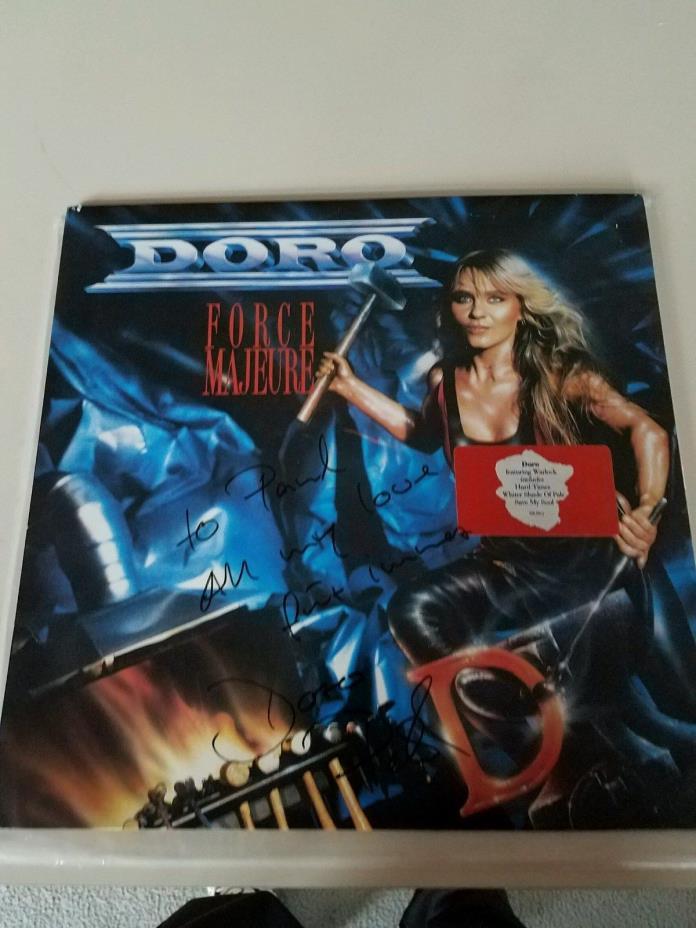 Doro Pesch Autographed Album
