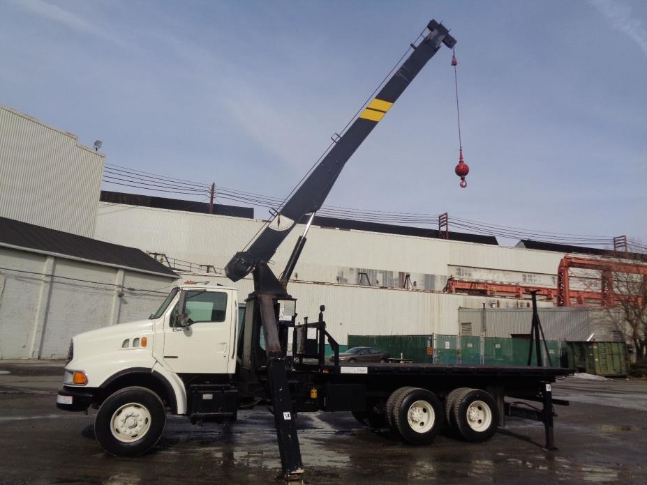 Sterling Boom Truck Crane 16 Ton Capacity - 68ft Height