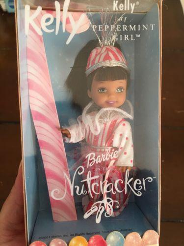 Afro American Kelly Peppermint Girl Barbie In The Nutcracker