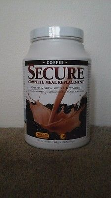Andrew Lessman SECURE MEAL REPLACEMENT COFFEE New and Sealed
