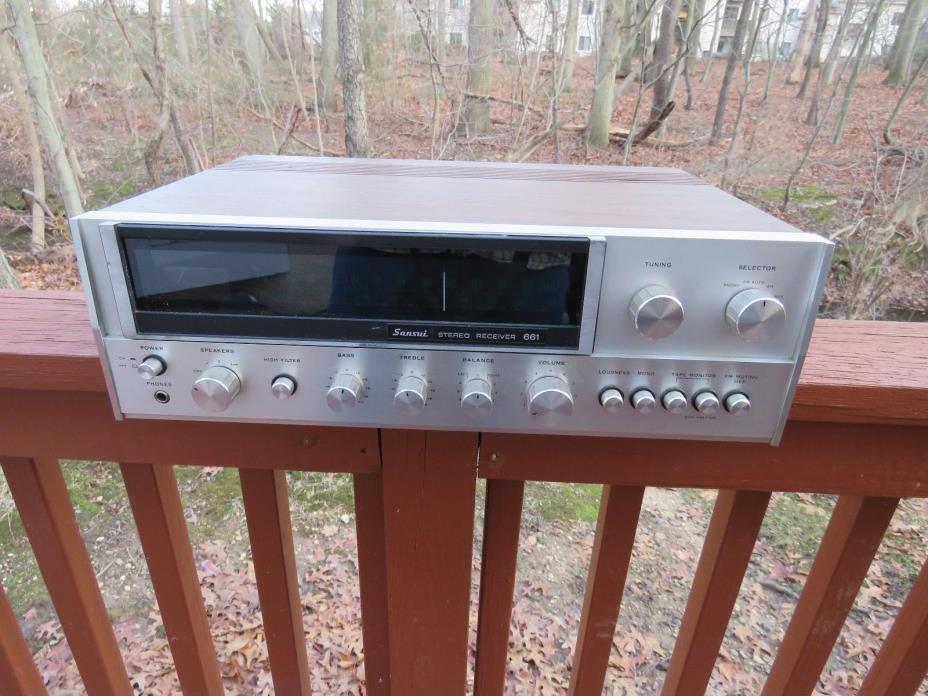 Sansui 661 AM/FM Stereo Receiver