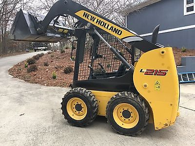 L215 new holland skid steer ,john deere