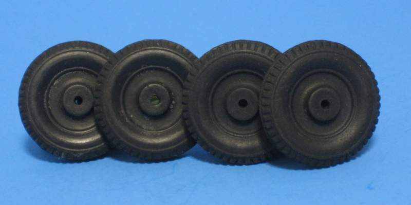 Four 1 ¼-inch Old Stock solid Rubber Wheels, Tires for Marx, Tootsietoy, Hubley