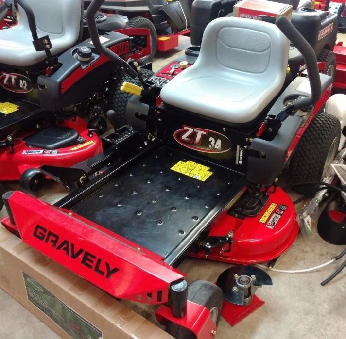 Gravely Zero Turn Mower ZT 34 Small Lawn Mower Leftover Special