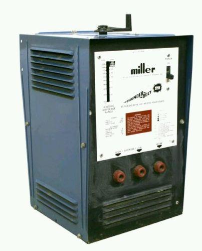 MILLER THUNDERBOLT 225V ARC WELDER LINCOLN HOBART