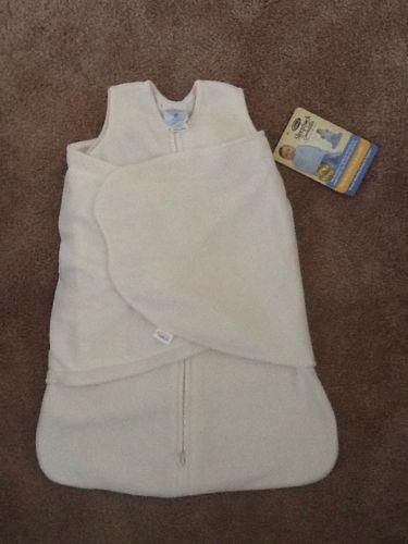 HALO BABY Kids Cream Fleece Swaddle Sleep Sack - Newborn  6-12 Lbs