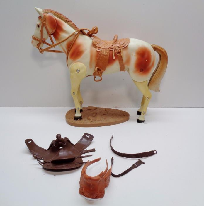 1973 Gabriel Hubley LONE RANGER Tonto's Horse SCOUT Action Figure SADDLES STAND