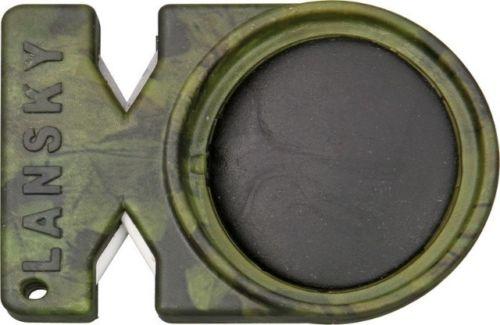 Lansky Quick-Fix LCSTC-CG Crock stick and tungsten carbide sharpener. Sharpen an