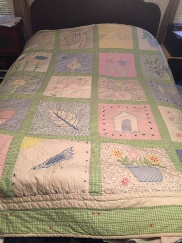 pottery barn kids MARY, MARY QUITE CONTRARY Quilt ~TWIN~