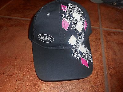 NWT NEW PETERBILT TRUCKS TRUCK LADIES HAT CAP ADJUSTABLE OFFICALLY LICENSED