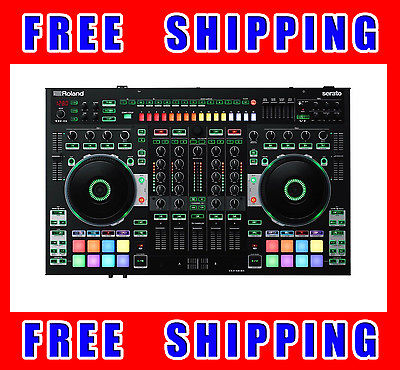 Roland DJ 808 Serato Performance DJ Controller with built in Drum Machine
