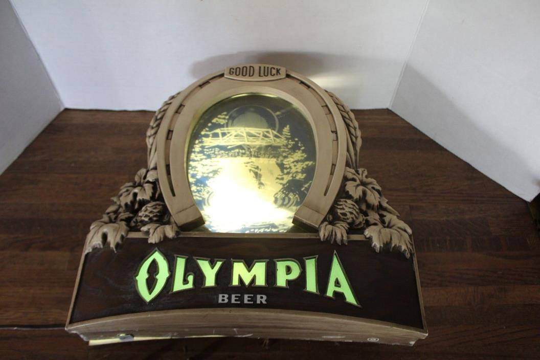 Vintage Olympia Beer Sign - For Sale Classifieds