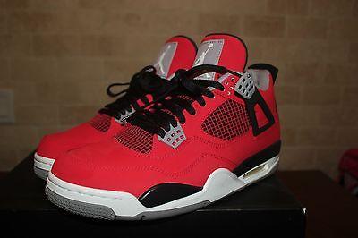 Nike Air Jordan IV TORO BRAVO red NDS sz 10.5 3 11 1