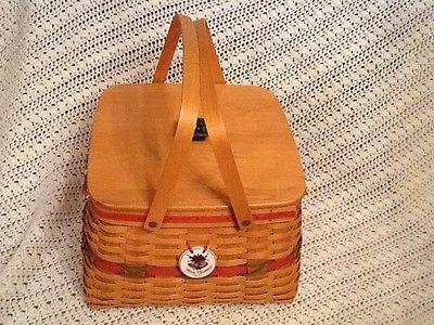 Longerberger Sewing Basket
