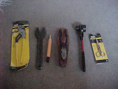 lineman tools ratchet wrench klein plyers