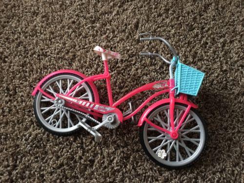 Lot #90 - Barbie Pink Bike Bicycle With Basket