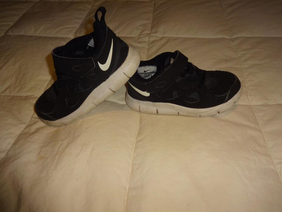 Little Boys Nike Free Shoes, sie8 8C, Black