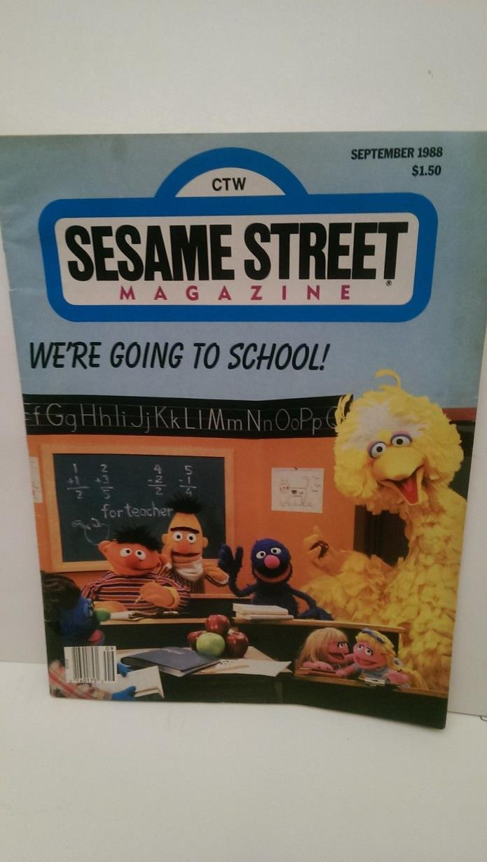Sesame Street Magazine - For Sale Classifieds