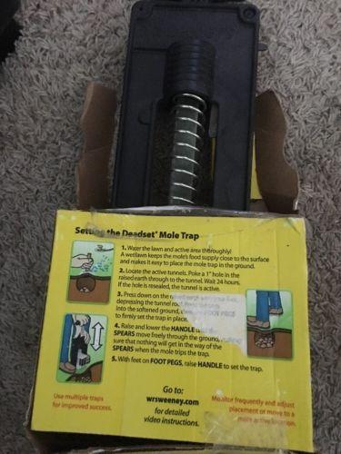 Deadset Precision Mole Trap Woodstream Animal Traps S9015 050624090154