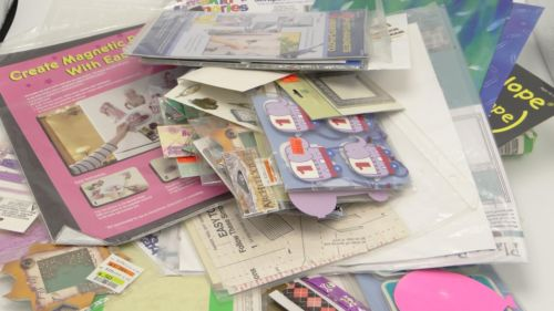Scrapbooking Stickers Embellishments Frames Magnets Stencils Large Lot Sheets