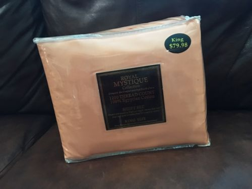 Royal Mystique Collection 1200 Thread Count 100% Egyptian Cotton Sheets, NWT!