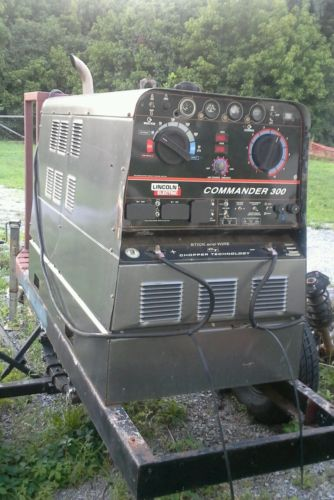 Lincoln Commander 300 Welder