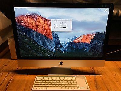 27-inch 5K iMac, 3.3 GHz i5, 2TB Drive, 32 GB RAM, AMD R9 M395x
