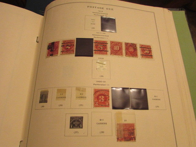 Scott Postage Stamp Album
