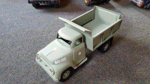 Tonka Toys Army Dump truck 1956 replica custom